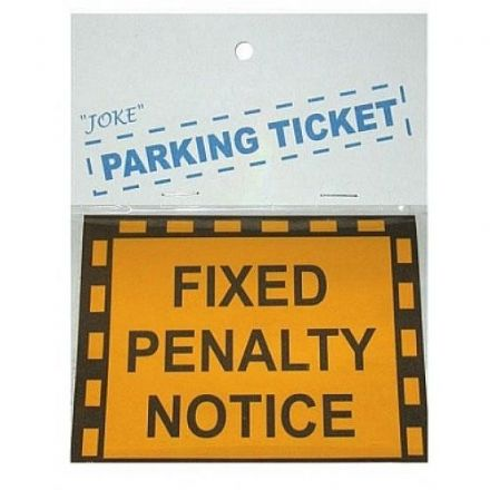 Joke Fixed Penalty Notice